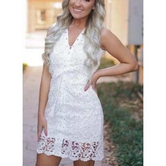 rosie daze Dresses & Skirts - White lace dress